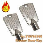 2pcs Freezer Door Key 216702900 For Frigidaire Kenmore AP4071414 PS2061565 12849 photo