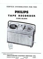 Philips Service Manual für EL 3514 englisch Copy