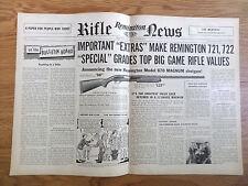 1954 Remington Rifle Gun News Ad Model 870 Magnum Shotgun