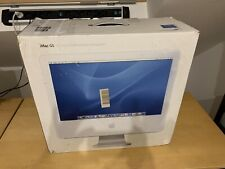 Apple iMac G5 PowerPC 20 Zoll, 240GB, 2G RAM, OSX 10.5.8 , OVP, TOP!
