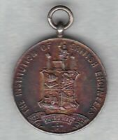 INSTITUTION OF BRITISH ENGINEERS SILVER MEDAL IN EXTREMELY FINE CONDITION