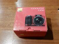 NEW in Open Box - Nikon COOLPIX L830 Camera 16.0 MP Camera - RED - 018208264407