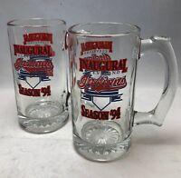 Cleveland Indians 1994 Inaugural Season Mugs Set of 2