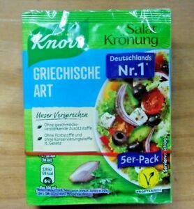 Knorr Salatkrönung Greek Art (4,67/3.5oz) 5 X 0.3oz