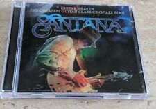 SANTANA GUITAR HEAVEN THE GREATEST GUITAR CLASSICS OF ALL TIME CD & DVD 3D COVER