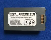 10 Batteries(Japan Li3.7v5Ah)For Symbol/Motorola#82-127909-02 MC3100R/MC3190G...
