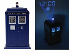 Doctor Who Tardis Projection Alarm Clock Underground 000101