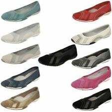Zapatos planos de mujer de color principal blanco de piel talla 40