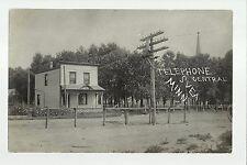 Svea Minnesota Rp 1909 Telephone Company Office nr Willmar Raymond Tiny Town!