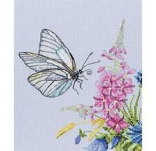 RTO Counted Cross Stitch Kit - Cabbage Butterfly