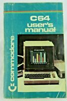 Vintage C 64 Users Manual 1984 Commodore Computers BASIC 2.0  Guide