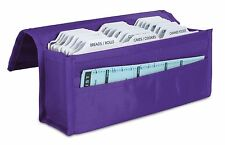 hannah direct Expandable Coupon Organizer in BRIGHT PURPLE