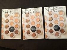 3x Nars Soft Matte Concealer Sample card Vanilla, Custard, Caramel, hazelnut set