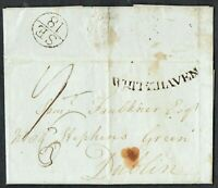 1795 Entire Superb Large Dublin Bishopmark 'SE/18' Fine 'WHITEHAVEN' Contents FU