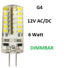 Dimmbare G4 6W 12V  DC/AC LED Lampe Stiftsockel Leuchtmittel Birne Tageslicht
