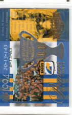 West Coast 1994 2003 Select AFL XL Ultra AFL Premiership Commemorative PC3