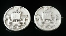 More details for pair iona girls association silver badges