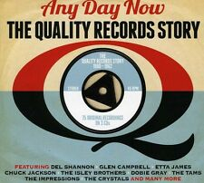 Any Day Now:the Quality Records Story - 3 DISC SET - Any Day Now (2013, CD NEUF)