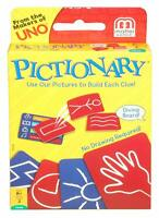 UNO Pictionary Card Game Brand new sealed package Mattel Games - Original
