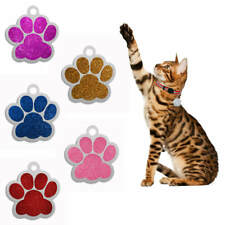Hot Sale 2020 New Paw Print Pet Id Tags Custom Engraved Dog Cat Tag Personalize