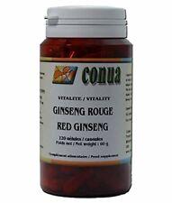 Ginseng rouge Panax 120 gélules Extrait concentré 5:1 360 mg (équivalent a 18