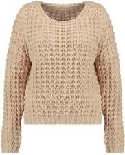 Acrylic Solid Jumpers & Cardigans Autumn for Women