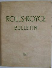 Rolls Royce Bulletin July 1956 Main article on The Avons of Scotland
