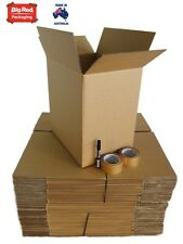 Moving Pack - 50 Cardboard Boxes + Tape + Texta