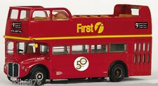 Efe FIRST Londres Routemaster RMC parte superior abierta (ruta 9) -33105