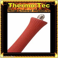 Red - Thermo-Tec (8 Pack) Spark Plug Wire & Lead Boot Cover Protector Sleeve