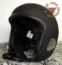 TITAN Leather Edition Chopper Harley Kult Jet Helm Skorpion/Gensler Lederfutter