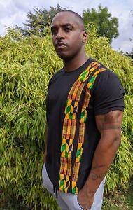 Mens Dashiki African Ethnic T-shirt Short Sleeve Tee Blouse Casual Shirt Tops UK