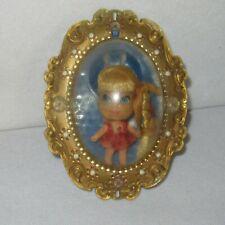 Lorna Lucky Locket Kiddle Doll 1966 Mattel
