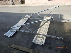 Photovoltaikgestell für 5-9  qm auf Flachdach   oder im Garten  ca  260 x 320 cm