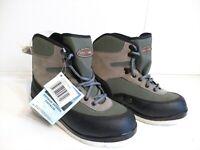 Pro Line Creek Wading Boots Felt Sole Bottoms Mens Size 8 NuBuck and Nylon
