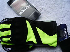 Triumph Bright Motorcycle Gloves - Size M (9)