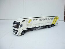 1:50 LION TOY CAR  VOLVO FH-12 TRUCK & TRAILER V WOOD INTERNATIONAL RARE!!