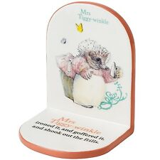 Beatrix Potter A25146 Mrs Tiggy Winkle Bookend