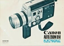 CANON - auto zoom 814 electronic - Instructions in english - H-4091