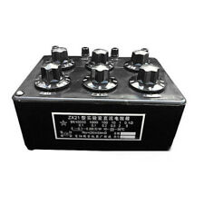 Newest ZX21 Precision Variable Decade Resistor Resistance Box 0.1R to 99.9999KR
