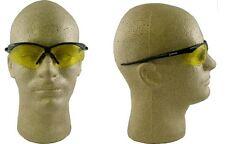 NEW Jackson Nemesis Safety Glasses, Black Frame - Amber Lens