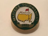 "Vintage Rare Authentic 2002 Masters Augusta National 3/4"" Stem Golf Marker"