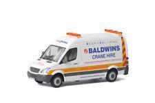WSI COLLECTIBLES MERCEDES-BENZ SPRINTER VAN BALDWINS CRANE HIRE 01-2534