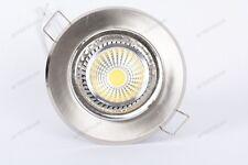 10x COB 5w LUMINAIRE LED encastré 120° BLANC CHAUD WARM GU10 220v