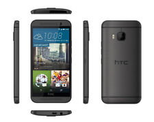 Unlocked HTC One M9 32GB 4G GSM LTE Android AT&T Smartphone In Gray Color