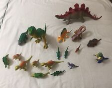 Dinosaur Toys Small & Large Assorted Plastic Figures 18 Piece Collectible Set