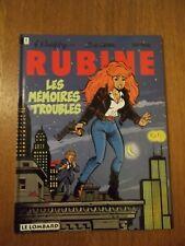Rubine T1: les mémoires troubles-C-EO-1993