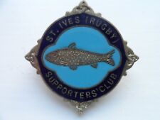 Old St Ives Rugby Club  Enamel Badge