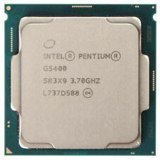 Pentium Gold G5400 Dual Core 3.7Ghz LGA 1151 Desktop Processor Same Day Shipping