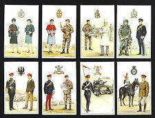 CIGARETTE/TRADE/CARDS. Army Careers Office. BRITISH REGIMENTS 1st Series. (Set).